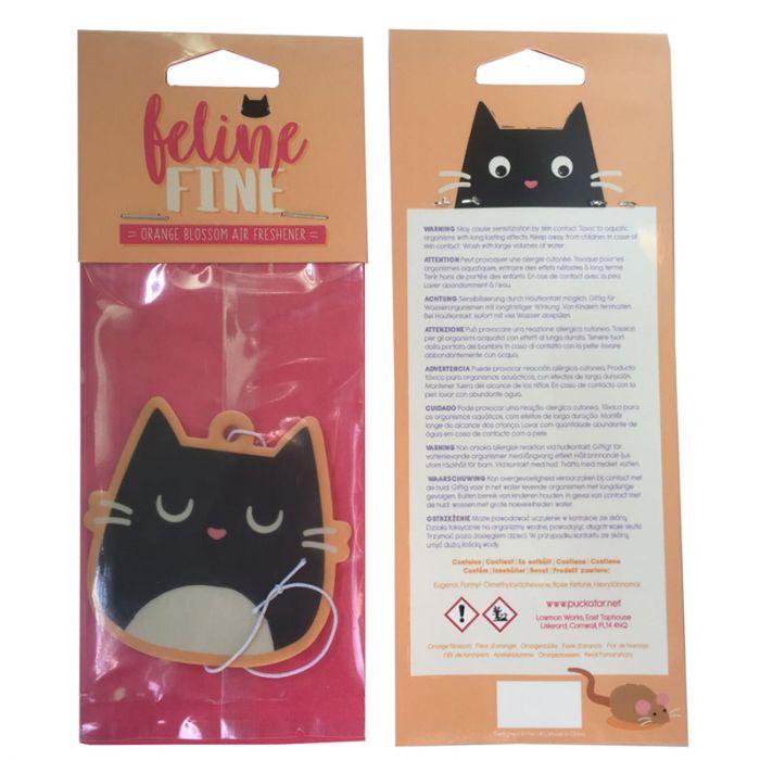 Deodorante Per Auto Testa Del Gatto Nero Feline Fine