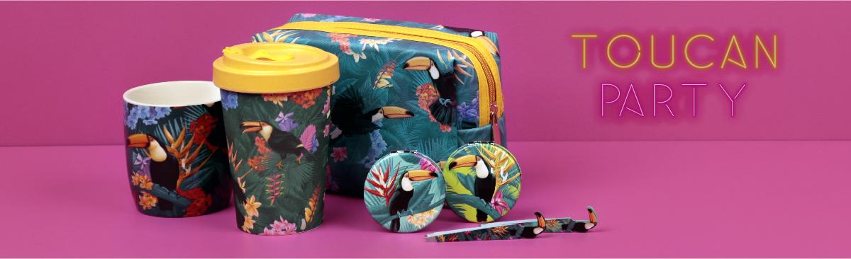 Unisciti ai disegni tropicali con Fiesta Tucan!