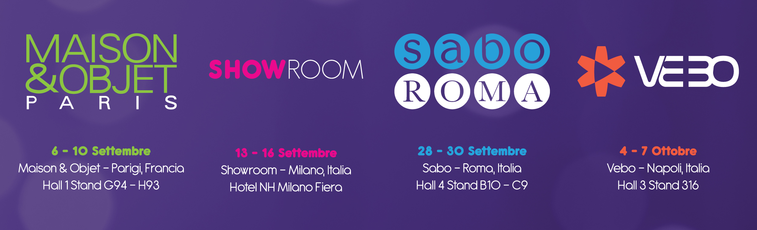 Fiere e Showroom
